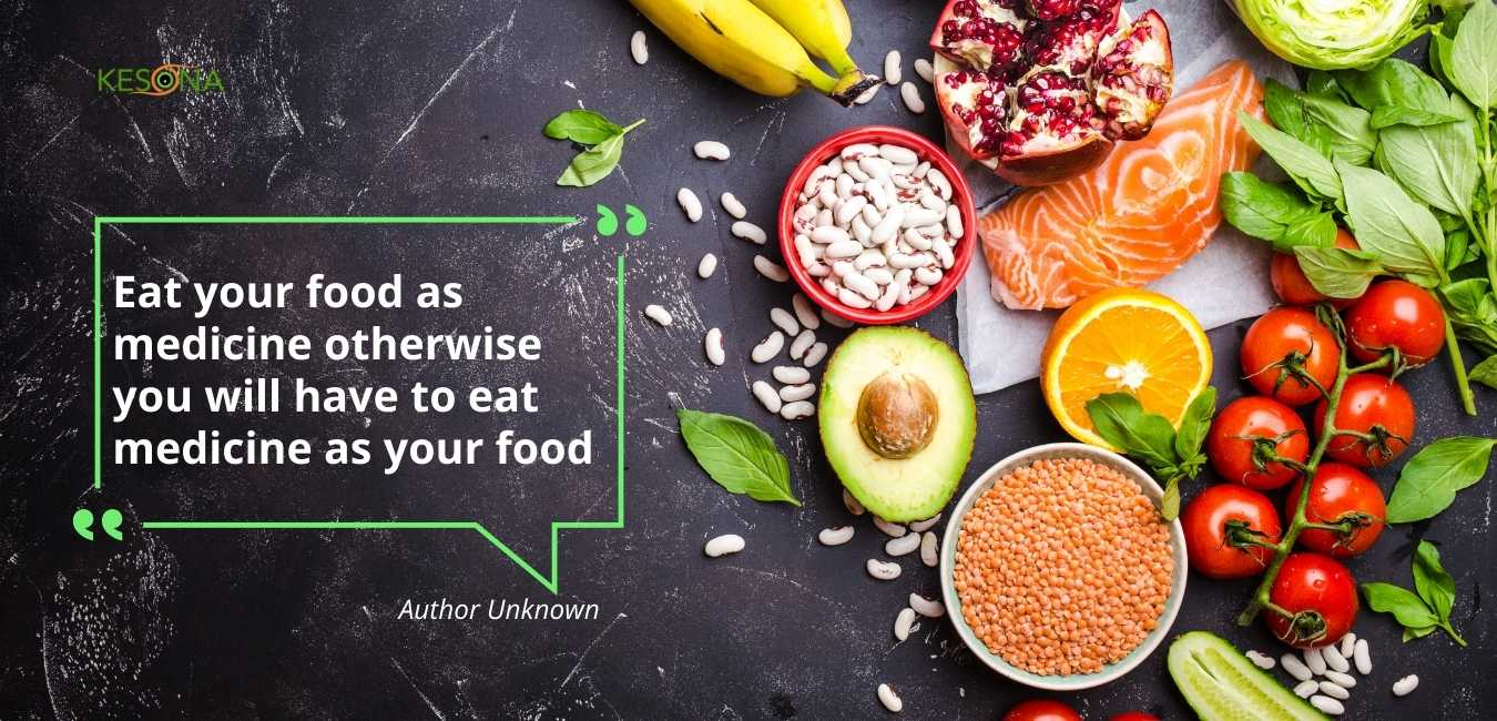 Quote - Eat food as medicine