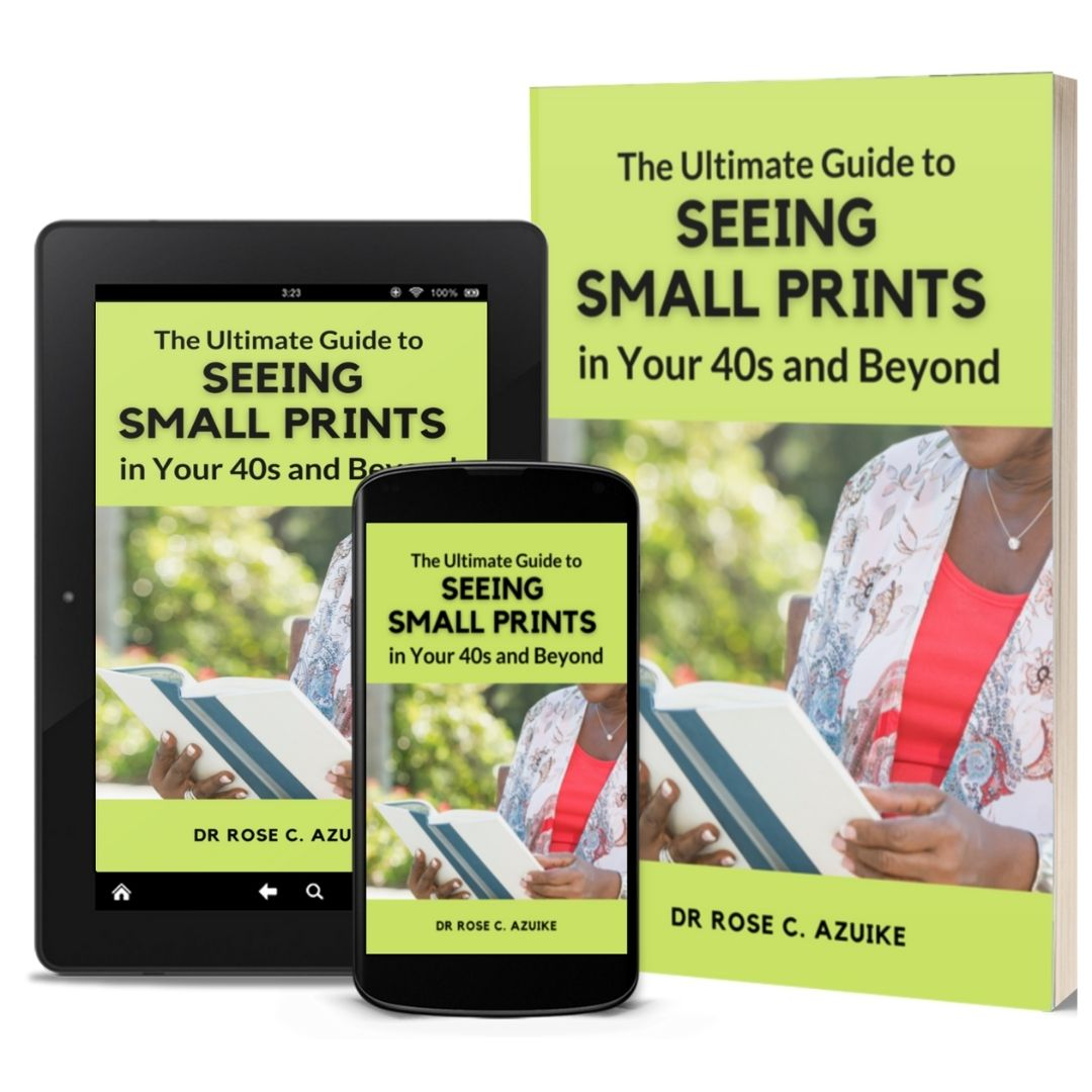The ultimate guide to seeing small prints in your 40s and beyond ebook