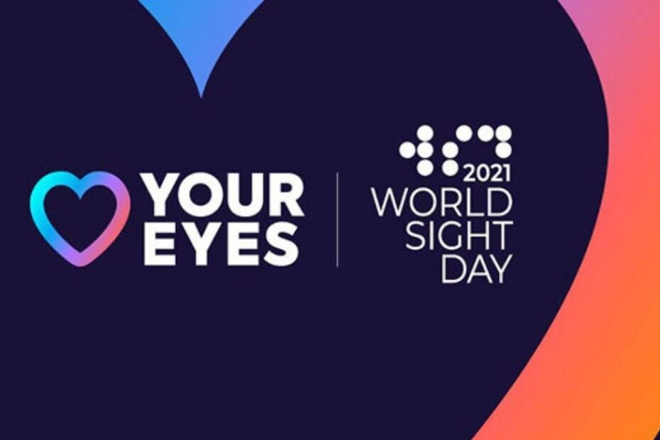 World Sight Day 2021 banner, Love Your Eyes