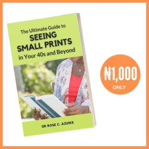 Ultimate guide to seeing small prints ebook flyer